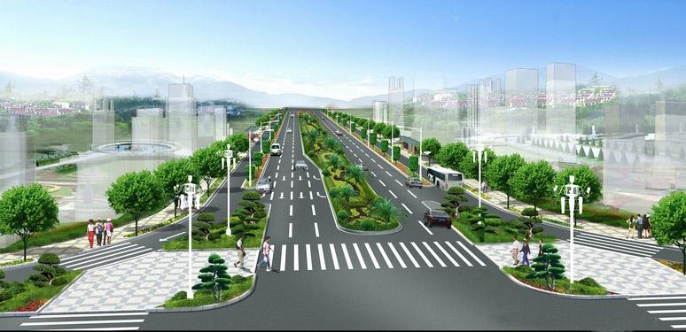 商务区二期主横一路工程(BT)的招标公告
